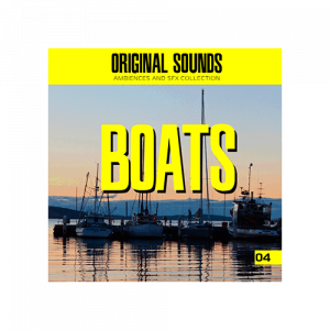 Boats Sound effect ambience library