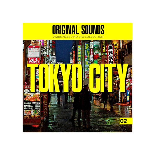Tokyo City Sound effect ambience library