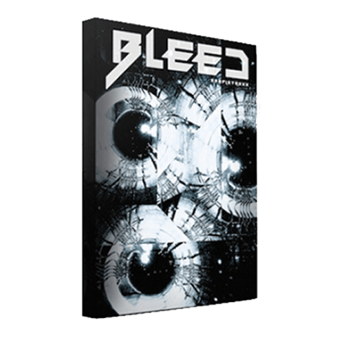 Bleed sci-fi sound library designed for the modern trailer and soundtrack composers