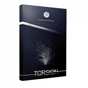 Torsion hi-tech sound library packed with cinematic sound effects, tempo-locked synths, stutter-stingers, tonal feedback