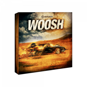 Woosh modern collection of cinematic WOOSH sound effects