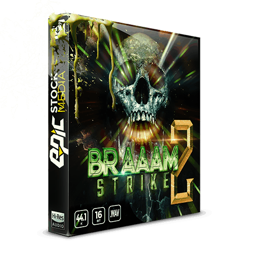 Braaam Strike 2 - A Braaam Cinematic Sample Sounds Effects Library