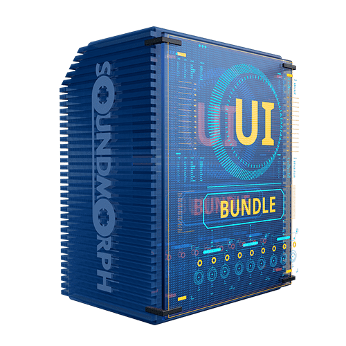UI Bundle user interface sounds and effects for games and films