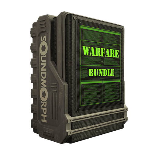 Warfare Bundle Military Styled sound effects for games and films