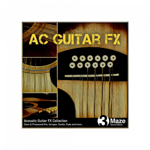 AC Guitar Impact and Scrape Sound FX