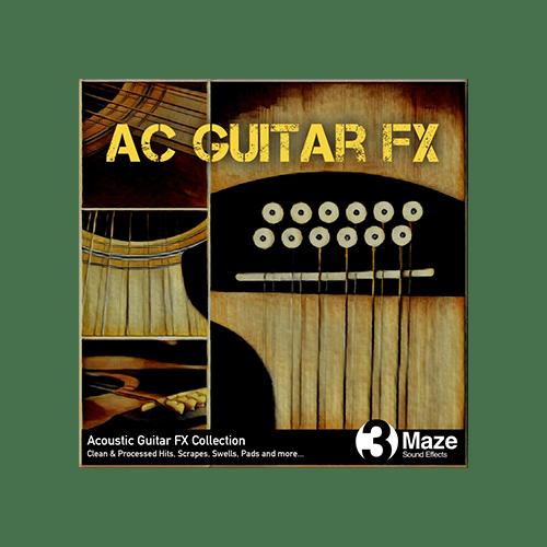 AC Guitar Impact and Scrape Sound FX
