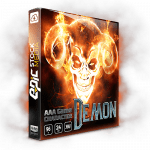 AAA Game Character Demon - a robust vocal sound effects sound library