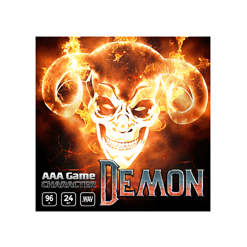 AAA Game Character Demon voice samples