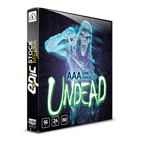 AAA Undead Game Character voice samples