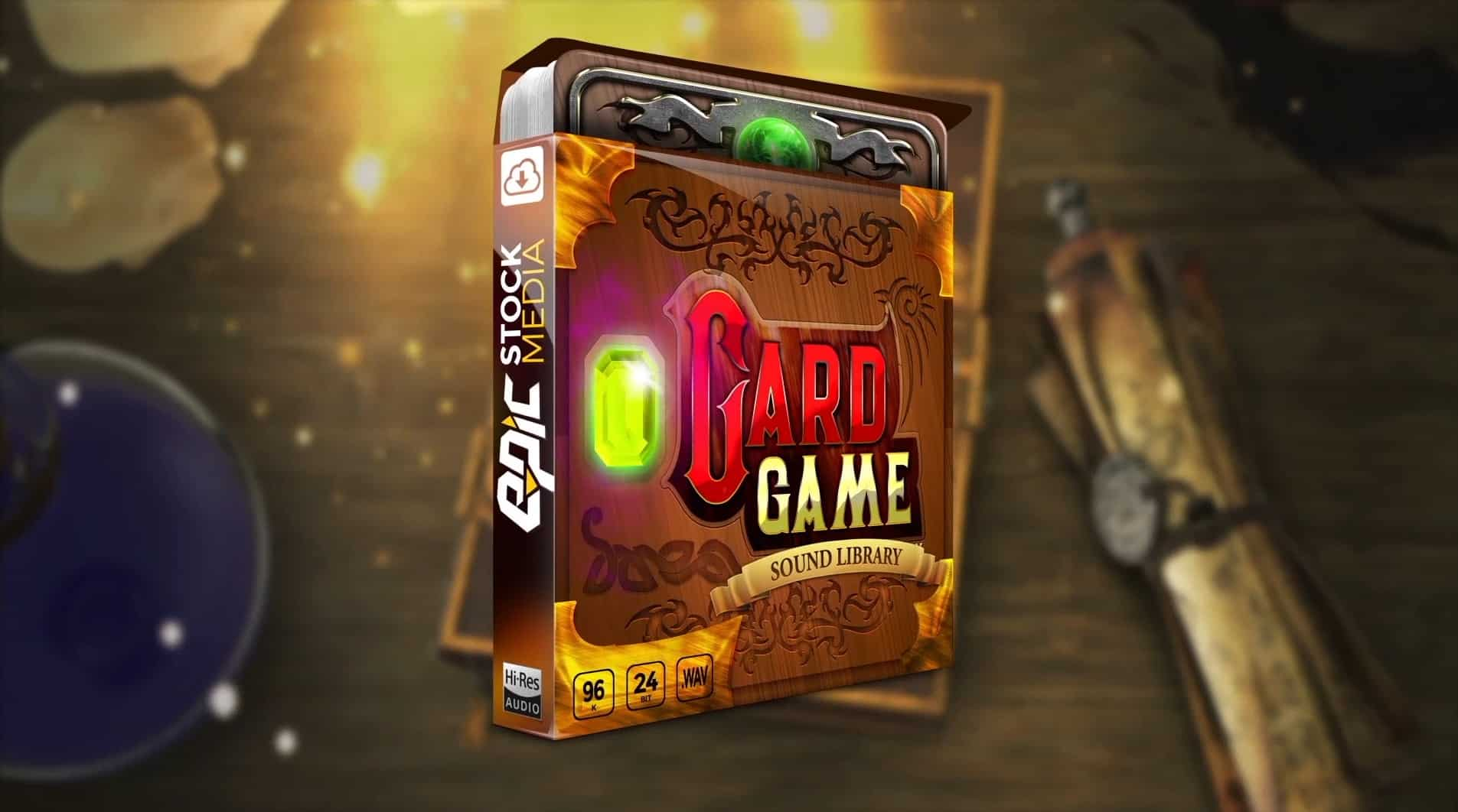 AAA Card Game - DCCG Sound Effects Kit - Epic Stock Media