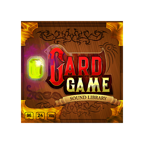 Card Game Sound Effects Library