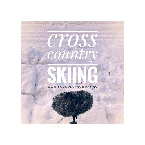 Cross country skiing sound effects library cover