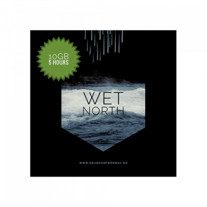 Wet north sound effects ambience library cover