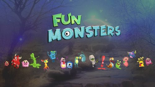 Fun Monsters Character voices sound effects banner