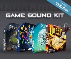 Game Sound Kit by Epic Stock Media