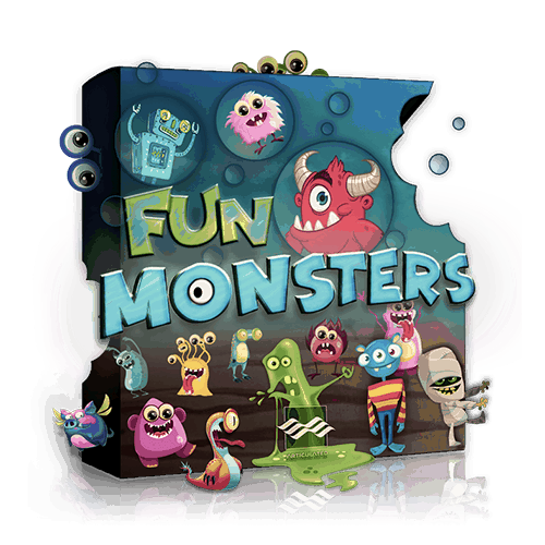 Fun Monster character voices - sound effects library