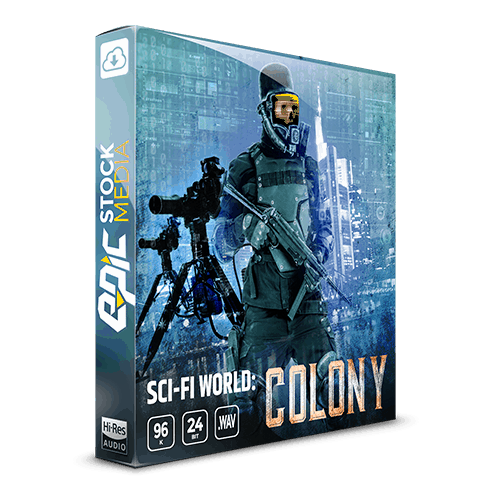 sci-fi world colony game ambience loop sound effects library box