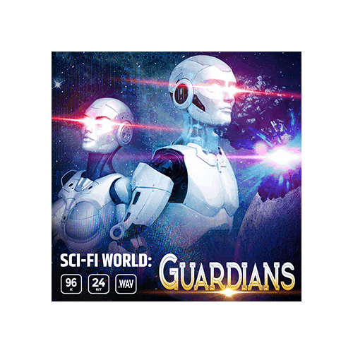 Sci-Fi World Guardians game ambience loop sound effects library cover
