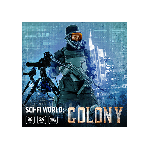 sci-fi world colony game ambience loop sound effects library cover