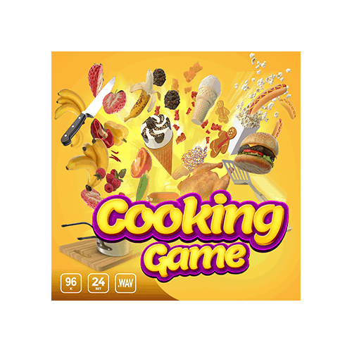 Cooking Game - Sound effects for any type of cooking game