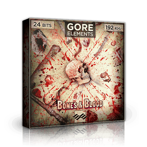 Gore Elements bones and blood - a sound library for blood and gore