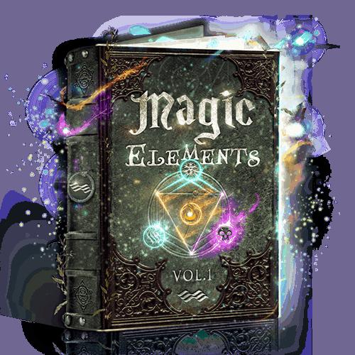Magic Elements vol 1 - magic game sounds elements