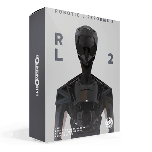 Robotic Lifeforms 2 - Robotic and sci-fi sound effects library
