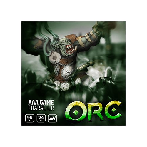 aaa game character orc voice sound effects cover