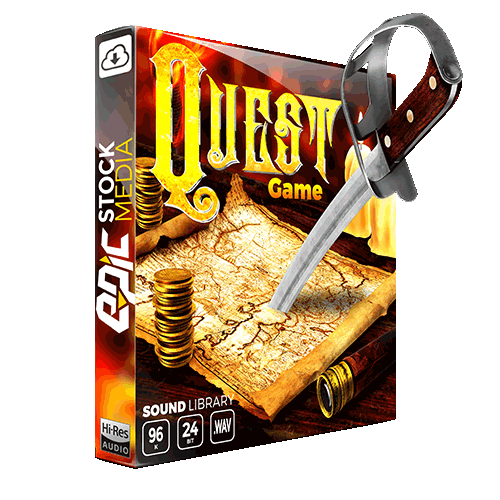 quest game RPG game sound effects library box-slider
