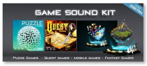 Game Sound Kit for Indie Game Developers