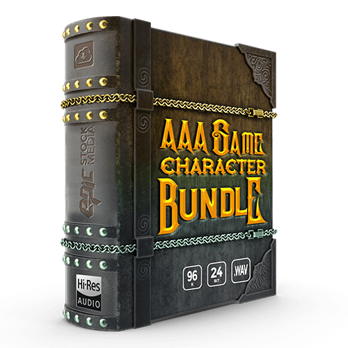 AAA Character Voiceover Bundle