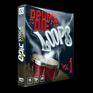 Drums To Die For Loops Box