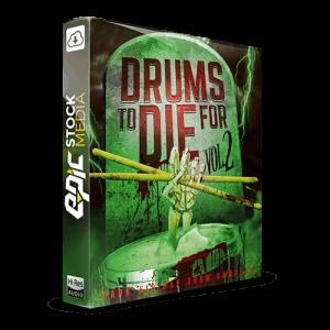 Drums to Die For Box V2 Dark Hip Hop Drum Samples