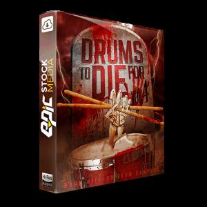 Drums to Die For Box V4 Dark Hip Hop Drum Samples