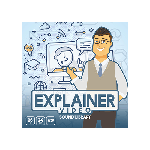 Explainer Video Sound Library cover