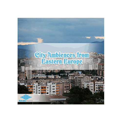 City Ambience from Eastern Europe Ambience Sound Effects