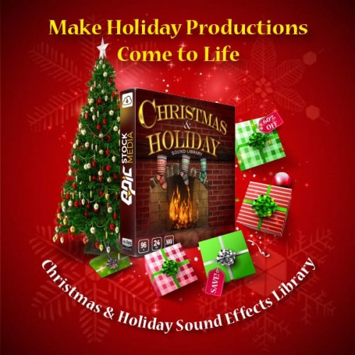 Christmas and Holiday Sound FX Library