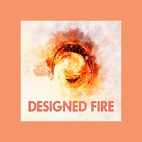 Designed Fire - Cover