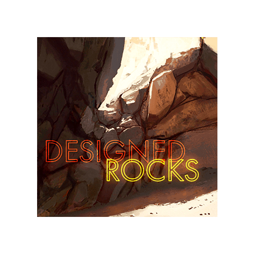 Designed Rocks - Cover