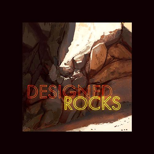 Designed Rocks - Cover