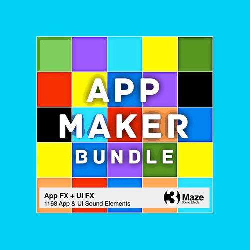 App Maker Bundle Sound Effects