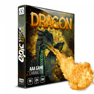 AAA Game Character Dragon Box