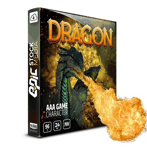 AAA Game Character Dragon Box