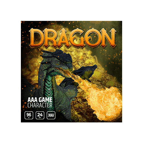 AAA Game Character Dragon Cover