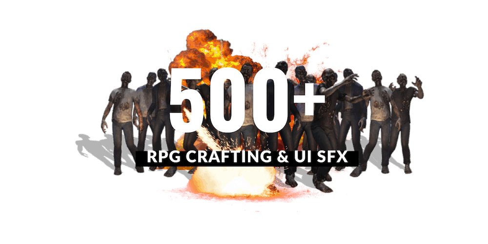 epic stock media game sound effects for RPG horror apocalyptic games