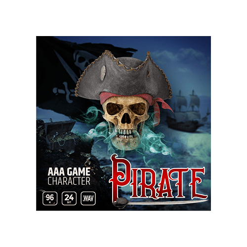 AAA Game Character Pirate