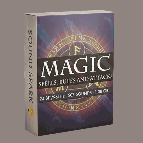 Magic spells buffs and attacks SFX