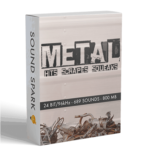Metal Foley Sounds Box