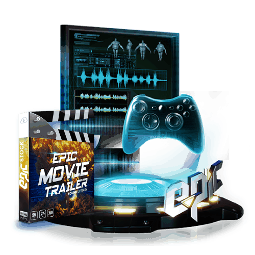 sound design starter kit with epic movie trailer