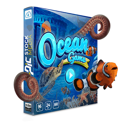 Ocean Game Sound Effects Library